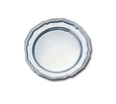 "Bon Chef 1032P 7"" Bread & Butter Plate, Aluminum/Pewter-Glo"