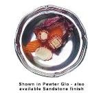 Bon Chef 1038P 11-oz Salad/Soup Bowl, Aluminum/Pewter-Glo