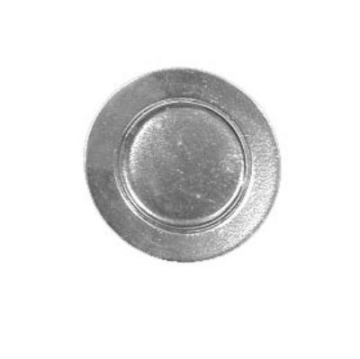 "Bon Chef 1041P 6"" Bread & Butter Plate, Aluminum/Pewter-Glo"