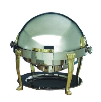 Bon Chef 12009 2-Gallon Roll Down Round Chafer, Stainless Steel