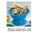 Bon Chef 150049059S WH 2-Qt, Soup/ Salad Bowl Pedestal, Aluminum/ White