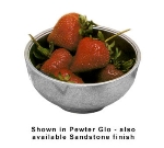 Bon Chef 15002BS WH 12-oz Sugar Bowl, Aluminum/White