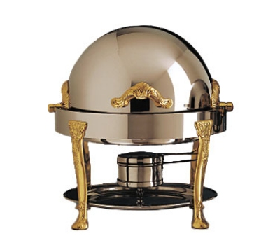 Bon Chef 17014 3-Qt Chafer w/ Brass Accent, Renaissance