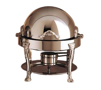 Bon Chef 17014CH 3-Qt Chafer w/ Chrome Accent, Renaissance
