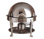 Bon Chef 17014S 3-Qt Chafer w/ Silver Accent, Renaissance