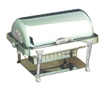 Bon Chef 17040CH Full Size Chafer w/ Roll-top Lid & Chafing Fuel Heat