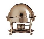Bon Chef 19014CH 3-Qt Chafer w/ Chrome Trim, Roman
