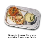 Bon Chef 2018S WH Oblong Platter, 9 x 13-1/8-in, Aluminum/White
