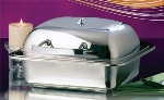 Bon Chef 20302 Square Mini Induction Chafer Without Glass, Small