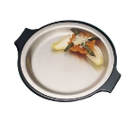Bon Chef 2042P 10.25-in Round Stainless Steel Platter, w/ Pewter-Glo