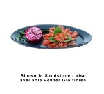 """Bon Chef 2051S WH 21.25"""" Fish Platter, Aluminum/White"""