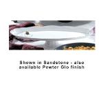 """Bon Chef 20639113S WH 28.5"""" Shell Fish Pedestal Platter, Aluminum/White"""