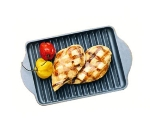 Bon Chef 2081T Tempo Grill Pan for Conveyer Oven, 5.5 x 9-in, Aluminum