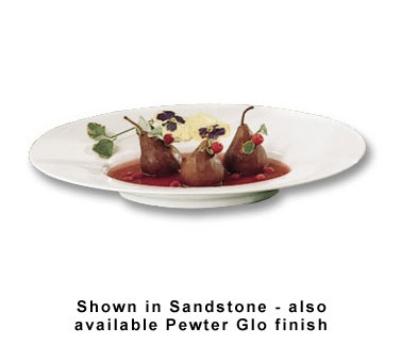 "Bon Chef 2090P Wide Rim Platter, 19.5 x 15.75"", Aluminum/Pewter-Glo"