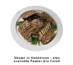 "Bon Chef 2301P 18"" Round Platter, Aluminum w/ Pewter-Glo"