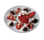 Bon Chef 2454S WH 10-in Plate, Aluminum/White