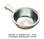 Bon Chef 3009P 12-oz Soup Bowl w/ Handle, Aluminum/Pewter-Glo