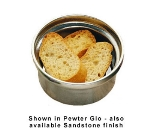 Bon Chef 3010P 10-oz Soup Bowl, Aluminum/Pewter-Glo