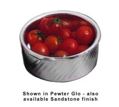 Bon Chef 3037P 12-oz Souffle Dish, Aluminum/Pewter-Glo