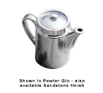 Bon Chef 4018P 15-oz Coffee Tea Server w/ Insulated Handle, Aluminum/Pewter-Glo
