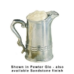 Bon Chef 4035P 2-qt Water Pitcher, Aluminum/Pewter-Glo