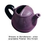 Bon Chef 4040S WH 16-oz Teapot, Aluminum/White