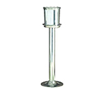 "Bon Chef 4045POLISHED Wine Cooler Stand, 25"" High, Pewter-Glo"