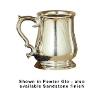 Bon Chef 4048S WH 16-oz Beer Mug, Aluminum/White