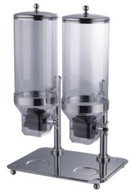 Bon Chef 40504 Double Cereal Dispenser w/ 64-oz Capacity