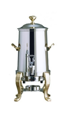 Bon Chef 41001 2-Gallon Coffee Urn Server, Single Wall, Stainless Steel