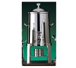 Bon Chef 42103C 3.5-Gallon Coffee Urn Server, Solid Fuel, Chrome