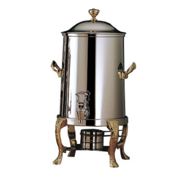 Bon Chef 47105 5.5-Gallon Coffee Urn Server, Solid Fuel, Renaissance