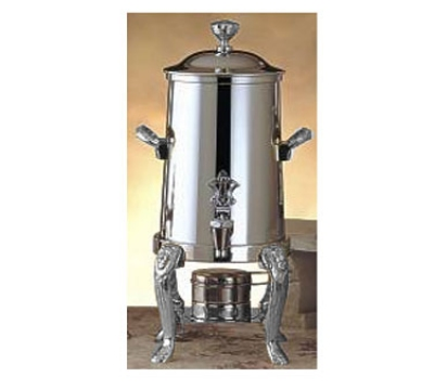 Bon Chef 48101C 2-Gallon Coffee Urn Server, Solid Fuel, Chrome, Lion