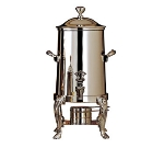 Bon Chef 48103C 3.5-Gallon Coffee Urn Server, Solid Fuel, Chrome, Lion