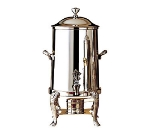 Bon Chef 48105C 5.5-Gallon Coffee Urn Server, Solid Fuel, Chrome, Lion