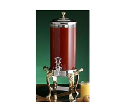 Bon Chef 48500CH 2-Gallon Juice Dispenser, Chrome, Lion