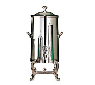 Bon Chef 49003C 3-Gallon Insulated Coffee Urn Server, Chrome, Roman
