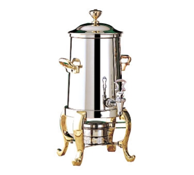 Bon Chef 49101 2-Gallon Coffee Urn Server, Solid Fuel, Roman