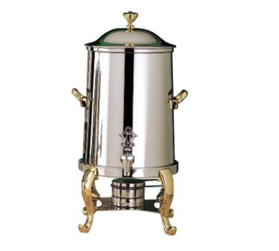 Bon Chef 49105 5.5-Gallon Coffee Urn Server, Solid Fuel, Roman