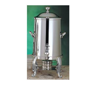 Bon Chef 49105C 5.5-Gallon Coffee Urn Server, Solid Fuel, Chrome, Roman