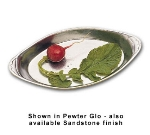 Bon Chef 5001S HGRN 12-oz Oval Au Gratin Dish, Aluminum/Hunter Green