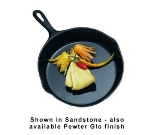 Bon Chef 5026P 10.5-in Fry Pan, Aluminum/Pewter-Glo