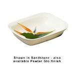 Bon Chef 5049S WH 4.5-qt Server Casserole Dish, Aluminum/White