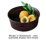 Bon Chef 5053P 1.5-qt Round Server Casserole Dish, Aluminum/Pewter-Glo