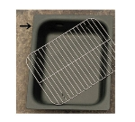 "Bon Chef 5065T 1/2-Size Tempo Chafer Food Pan, 2.75"" Deep, Aluminum"