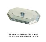 Bon Chef 5068CS BLK 2-qt Cover, Octagon Bouillabaisse Dish, Aluminum/Black