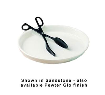 Bon Chef 5069S BLK 1-qt Oval Casserole Dish, Aluminum/Black