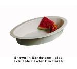 Bon Chef 5099S BLK 7-qt Oval Casserole Dish, Aluminum/Black
