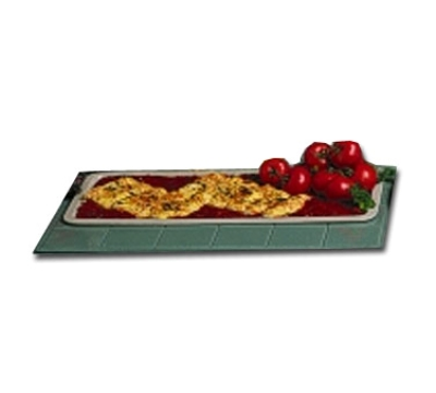 "Bon Chef 5101S BLK 25"" Banquet Serving Platter, Aluminum/Black"