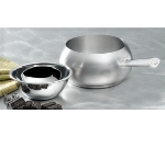 "Bon Chef 5150SS 6"" Fondue Pot w/ Tapered Handle & Induction Bottom"